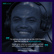 Charles Barkley in support of SOS Council