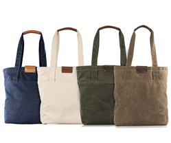 Outbound Canvas Tote — four colors, two sizes