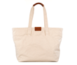 Outbound Canvas Tote — large, natural
