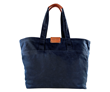 Outbound Canvas Tote — large, navy