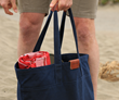 Outbound Canvas Tote — ideal for beach outings
