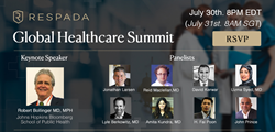 A 'Global Healthcare Summit' with pioneers and leaders in the healthcare industry will take place on 30 July 2020.