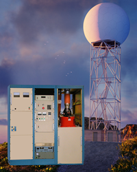 DTI Radar Transmitter Systems have a single controller that can drive one or two switches in a push-pull configuration; yielding fast fall time for a capacitive load.