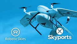 Robotic Skies and Skyports Partnership Advances the Safety of Drone Delivery Services