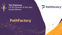 Oracle recognizes PathFactory with the first-ever Visionary CX ISV Partner of the Year Award