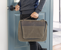 The Tech Folio 16-inch — high-capacity gear organizer and slim laptop bag