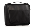 Tech Folio 16-inch — in black ballistic nylon and full-grain leather
