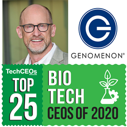 Mike Klein of Genomenon - Top 25 Biotech CEOs of 2020