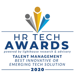 Logo for the HR Tech Awards