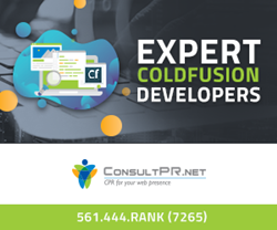 Consult PR is offering hosting and maintenance services for ColdFusion software.