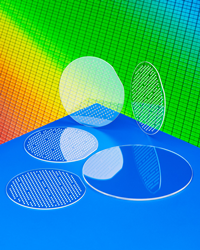 "Meller Sapphire Wafer Carriers can be fabricated to specification as thin as 0.018"" with 1.2 micron uniform thickness, 10 arc-sec. parallelism, and can be custom perforated."