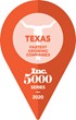 Inc. 5000 Series: Texas Logo