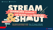 """Stream & Shout"" on August 17, 2020, 9.00 pm (CET) live from  www.stream-shout.hamburg"