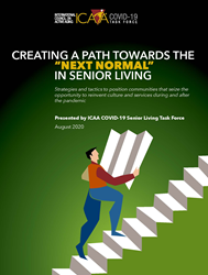 Creating a path towards the next normal in senior living