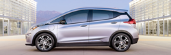 2018 Chevrolet Bolt EV side view
