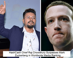 Raj Chowdhury Surpasses Mark Zuckerberg