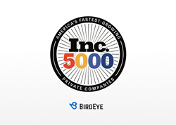 BirdEye Named to Inc. 5000 List of America's Fastest-Growing Private Companies