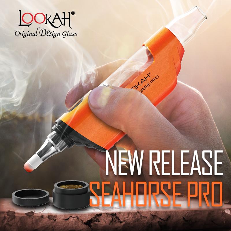 Lookah Seahorse Pro Dip Wax Pen Sells Over 100,000 Units