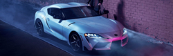 2021 Toyota GR Supra front and side profile