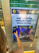 The system upgrade makes the DART information contactless and viewable from mobile devices through embedded QR code activation.