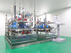 Raybow Pharmaceutical's newly installed Corning G4 reactor