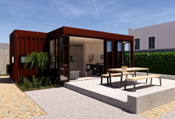Modern Container Accessory Dwelling Unit