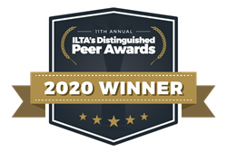 ILTA Distinguished Peer Awards Logo