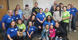 Ideal has a long history of community partnership with Second Harvest. Twice a year Ideal sends a group of 20-25 volunteers to pack boxes of food for our hungry neighbors and make a monetary donation.