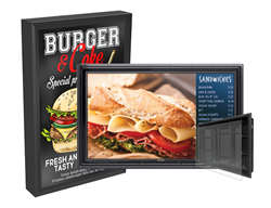Digital Drive Thru Menu Boards & Digital Signage Solutions - The Display Shield and The TV Shield PRO