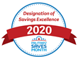 "Armed Forces Bank also received the ""Military Saves Designation of Savings Excellence"" for its work to help service members and their families save money, reduce debt and build wealth"