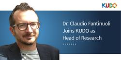 Dr. Claudio Fantinuoli Joins KUDO