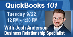 Ideal CU will host a QuickBooks 101 Business Webinar on September 22, 2020. Guest instructor Randy Morris from Fiscal Foundations, LLC, will cover the benefits of QuickBooks and how to get started.