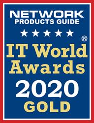 NPG's 2020 IT World Awards logo