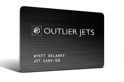 The Outlier Jet Card: 365 day access | hours never expire | industry-first refundable jet card