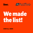Managed Accounting and ERP Experts, AcctTwo, Announce 4th Consecutive Year on Inc. 5000 List