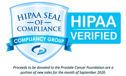 HIPAA Seal of Compliance Prostate Cancer Awareness