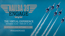 NAILBA 39 Engage graphic