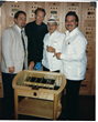 DM 38 Daniel Marshall and Carlos Fuente Sr and Jr Stan Schuster Grand Havana Beverly Hills