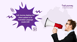 Call Journey deploys the latest update to its Australian Language model ASR