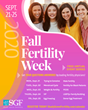 Shady Grove Fertility (SGF) Inaugural Fall Fertility Week to Kick Off September 21, 2020