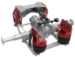 Atlas Redline single axle air spring suspension, Atlas Redline single drive air spring suspension, Atlas Redline suspension
