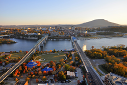 Chattanooga Fall Aerial
