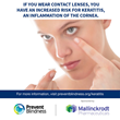 Prevent Blindness declares October as Contact Lens Safety Month to educate consumers on ways to keep eyes healthy while using contact lenses.