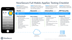 NowSecure Advanced Mobile App & API Security Testing Solution