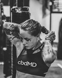 cbdMD is proud to celebrate a night of triumph for Team cbdMD athlete and mixed martial arts expert, Jessica-Rose Clark, who won the women's bantamweight division match during UFC Fight Night 178.
