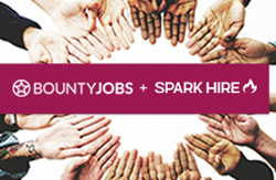 BountyJobs and Spark Hire