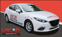 Cantor's Driving School Florida driver training car