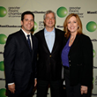 Partners C.L. Conroy and Jorge Martinez with Jamie Dimon, chairman and CEO of JPMorgan Chase at a Greater Miami Chamber of Commerce event.