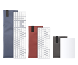 Dash Sleeve for the Apple 10-key Magic Keyboard, standard Magic Keyboard, and Magic TrackPad — available in five colors in three fabric choices