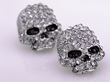 A more gorgeous twist to a dark style Halloween, these studded skull earrings glisten like no other and make the perfect accessory for a Halloween costume!
